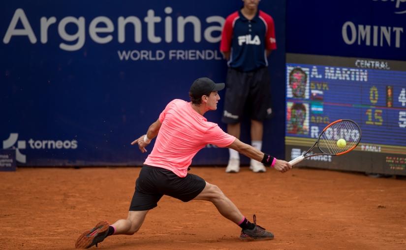 El rosarino ganó en el debut. Foto: Sergio Llamera