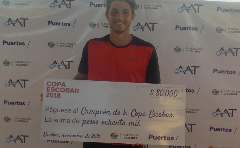 Santiago Rodríguez Taverna Campeón del Future deEscobar