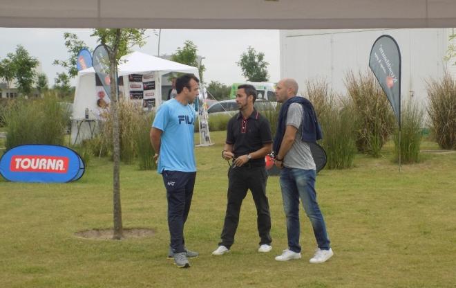 Eddie con Franco y Steiner
